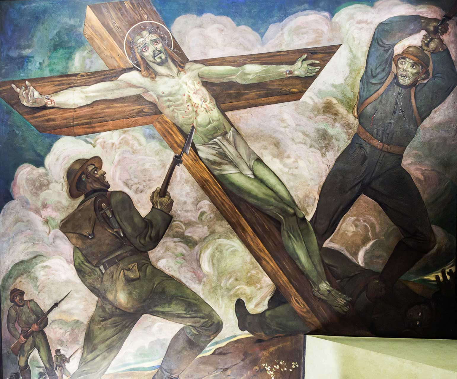 Christ on the Battlefield Mural