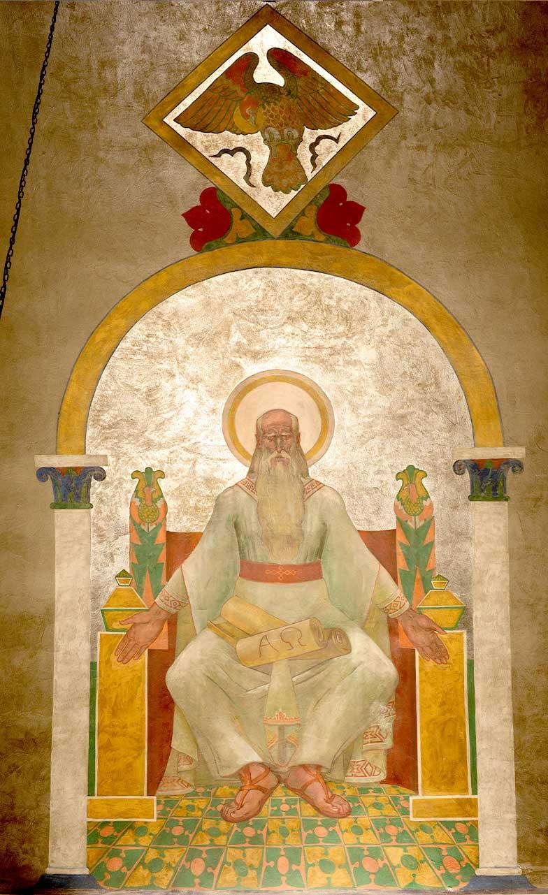 Disciple John Mural