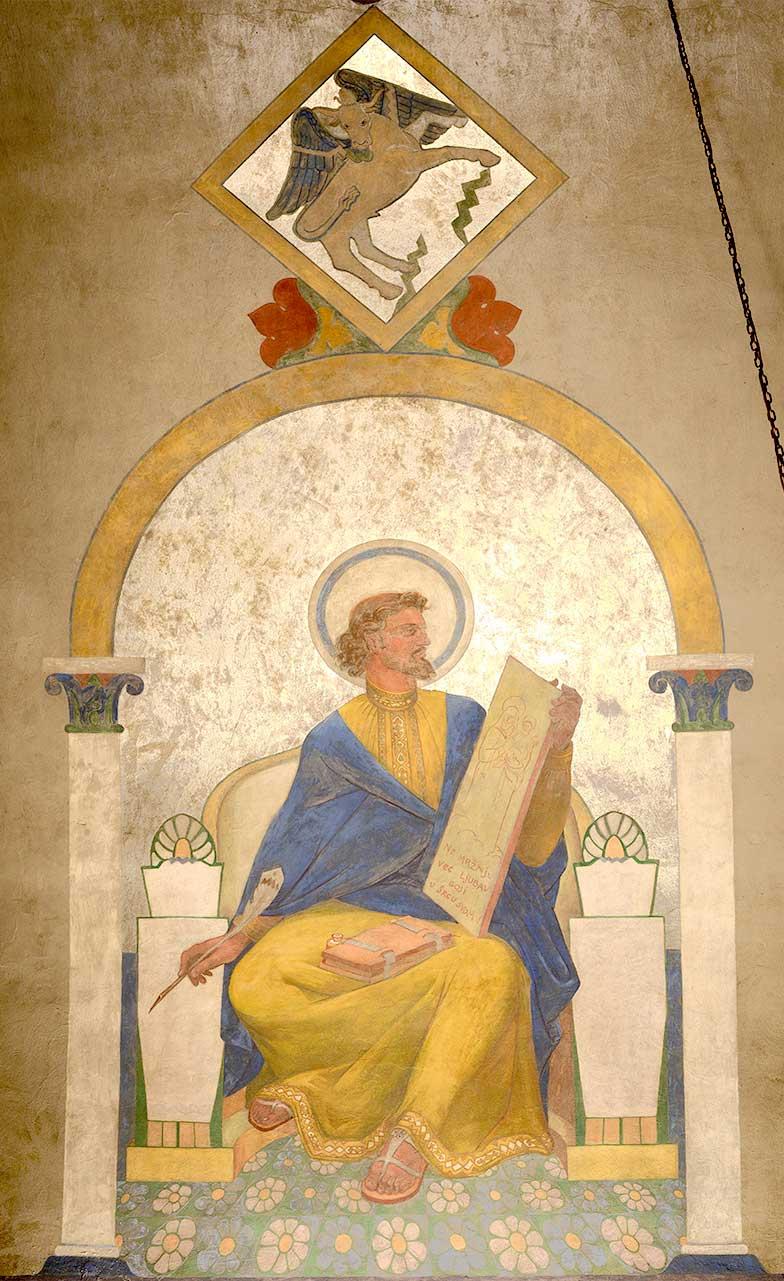 Disciple Luke Mural