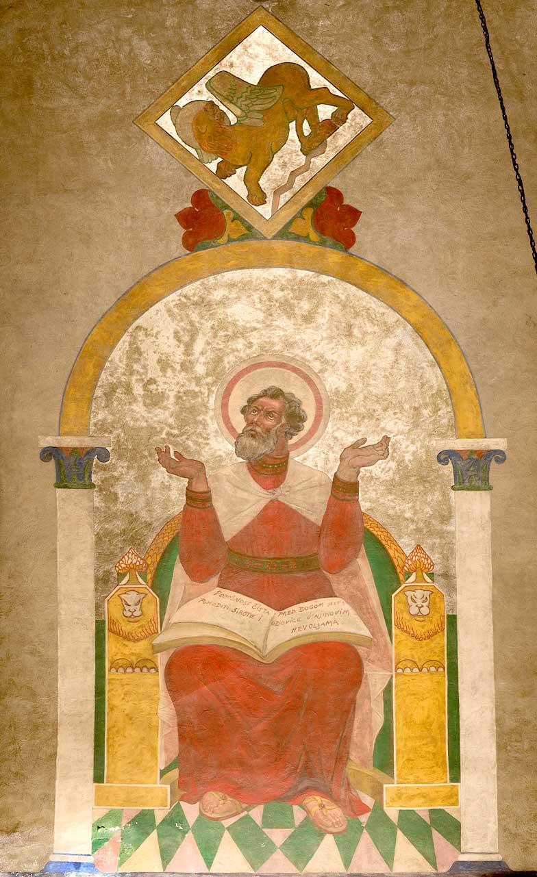 Disciple Mark Mural