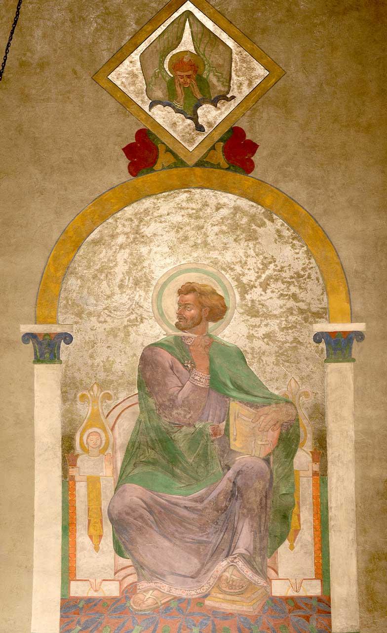 Disciple Matthew Mural