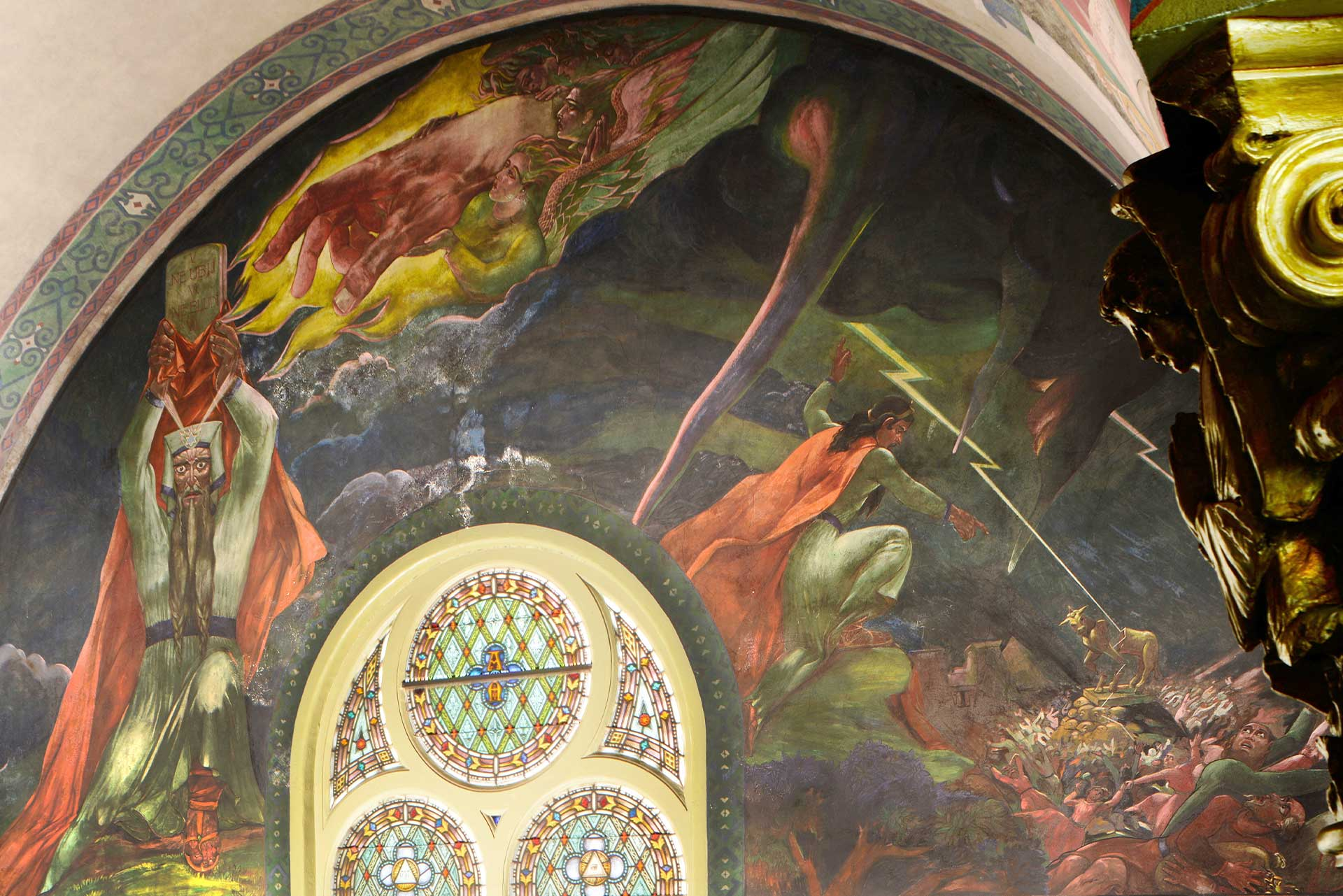 The Old Testament Mural