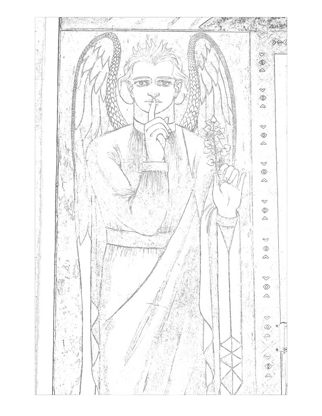 Prudence coloring page
