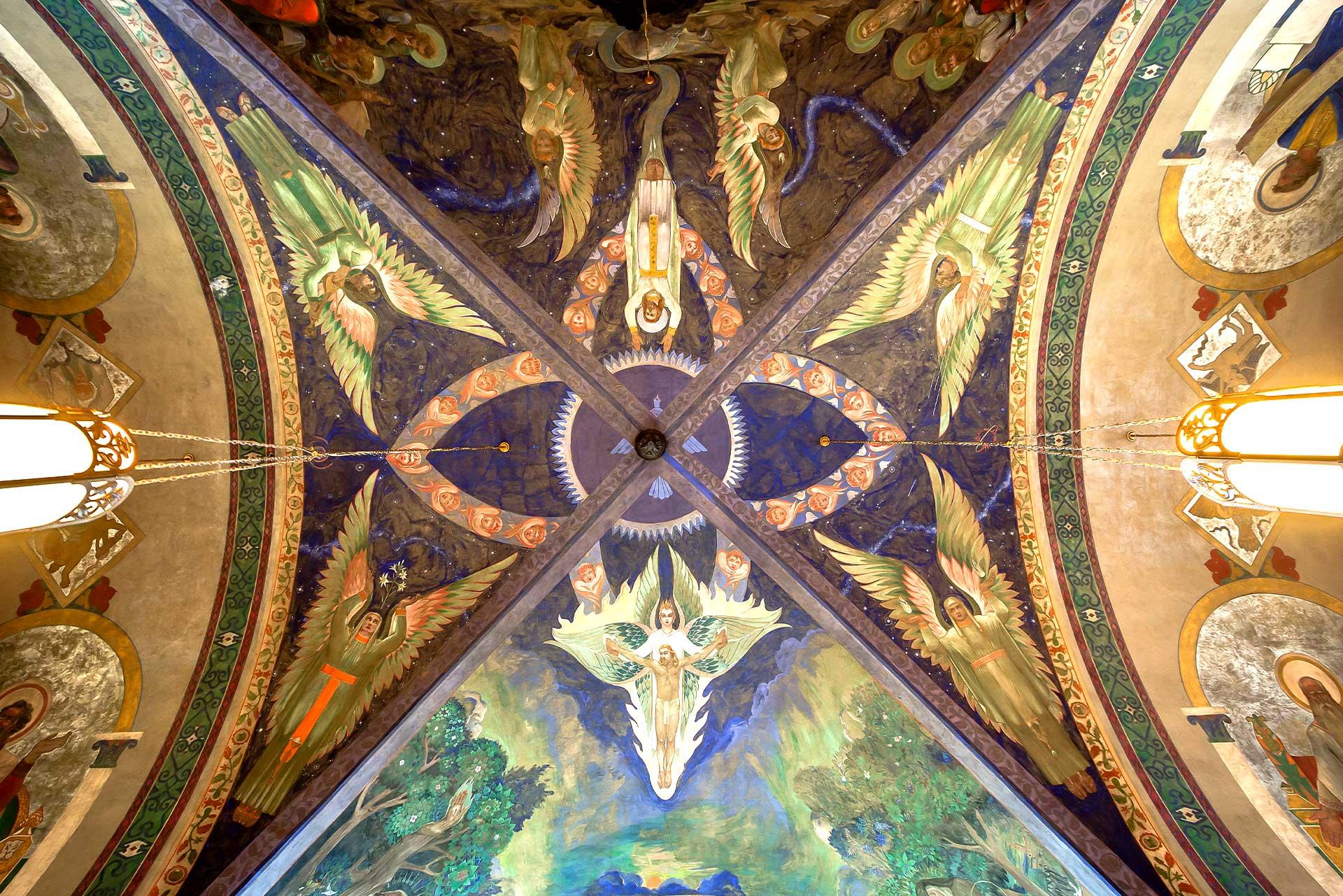 The Transcendent Vision Mural Ceiling