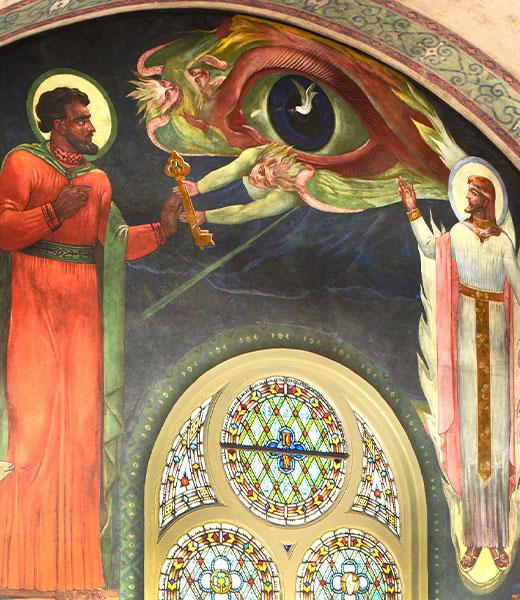 New Testament Mural