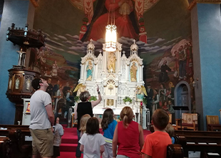 tour of the murals