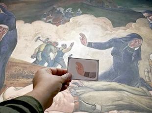 Card of mural