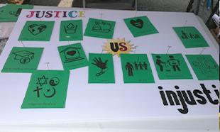 Justice vs injustice board