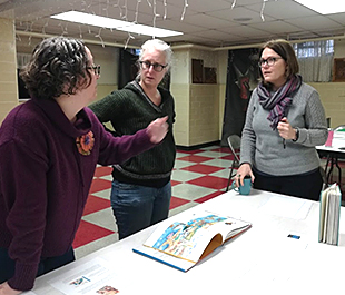 Group discusses books