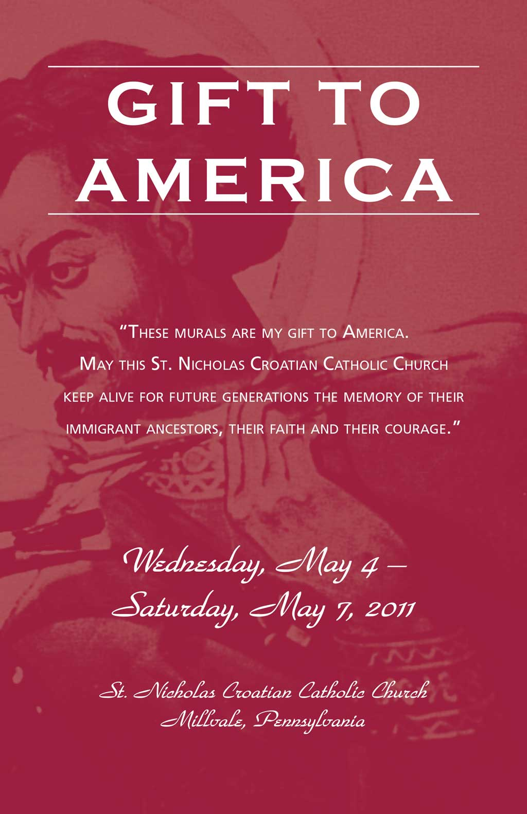 Gift to America Program Cover